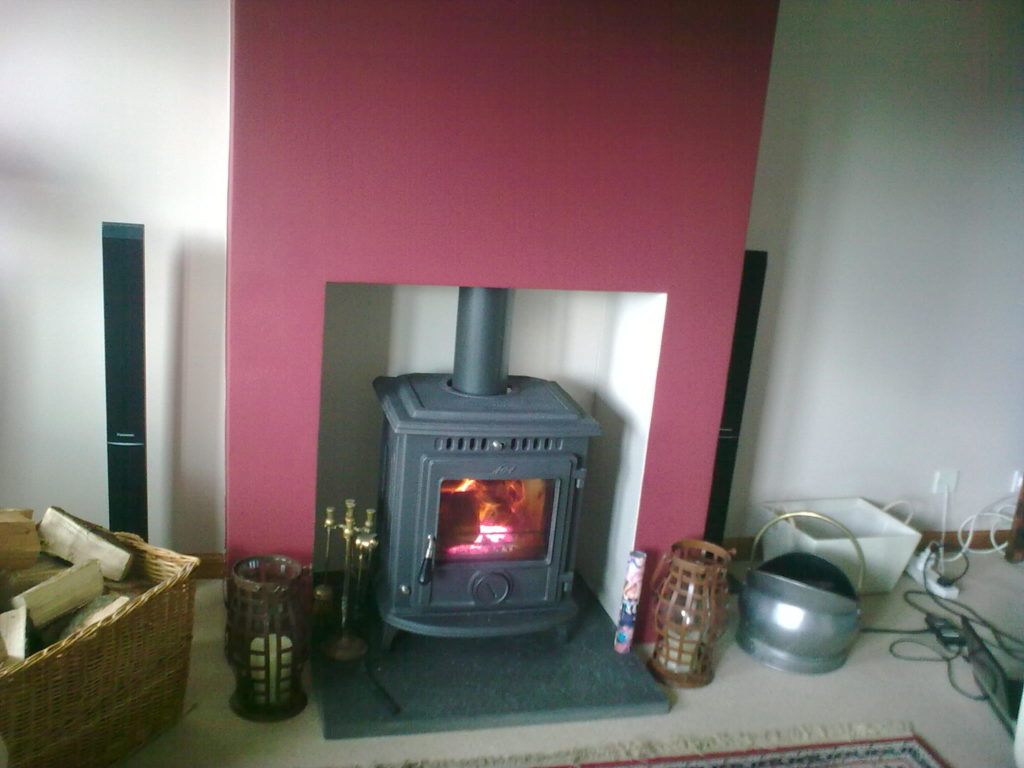 Aga multifuel stove installed in Elgin
