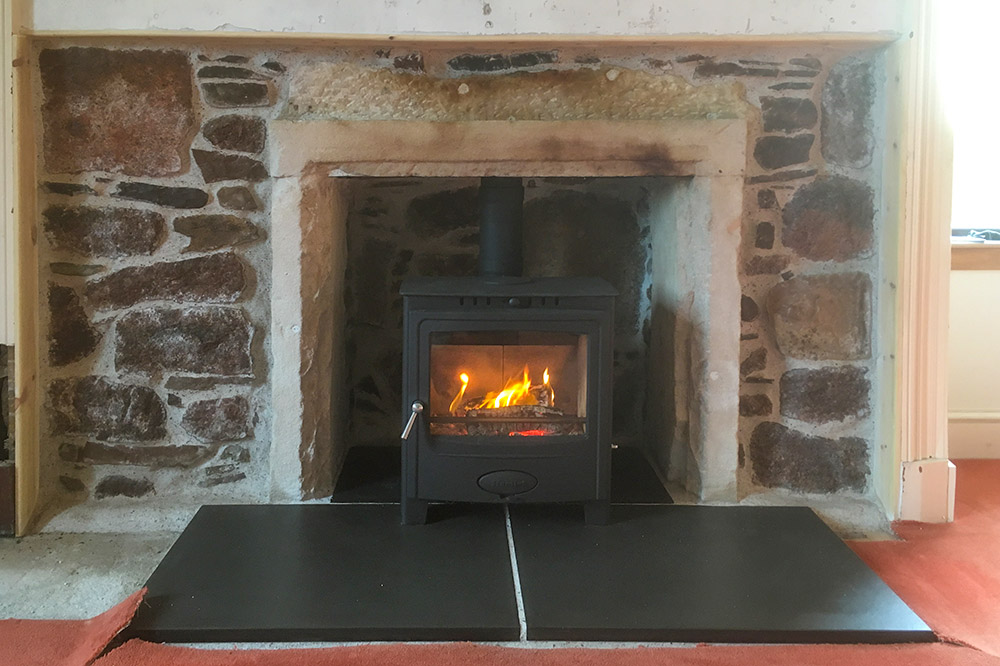 Multifuel stove – Auldearn farmhouse